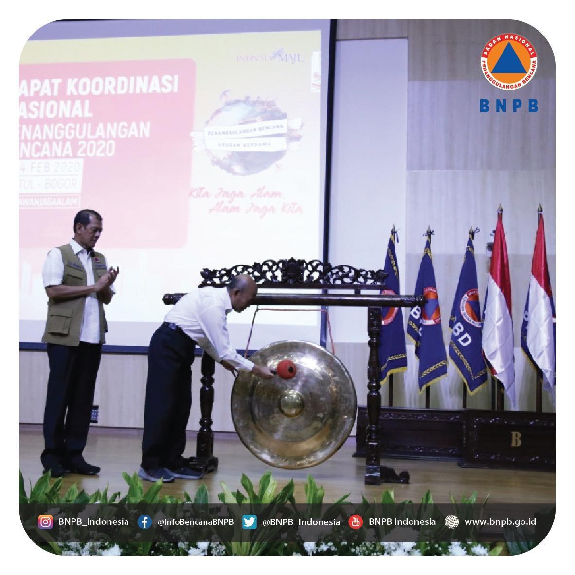 BNPB Mengajak Multi Pihak Untuk Bahas Solusi dan Strategi PB di Indonesia