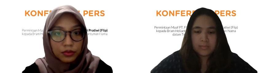 Permintaan Maaf PT. Fliptech Lentera Inspirasi Pratiwi (Flip) pada Bram Helianto