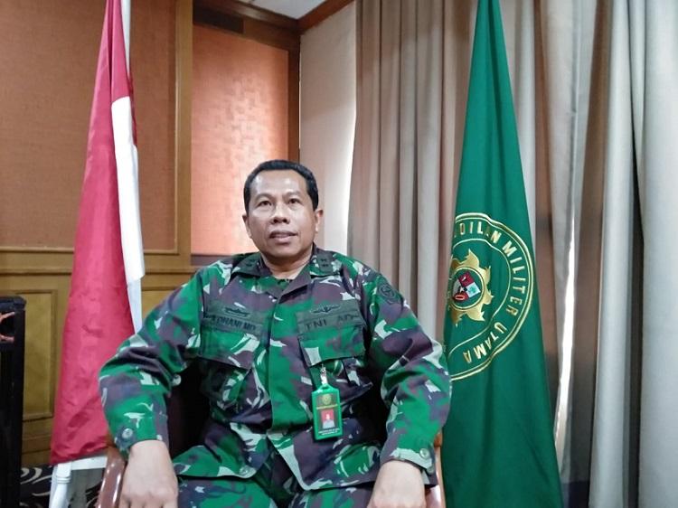 WBK WBBM di Berlakukan di Pengadilan Militer Utama