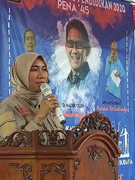 Aini Kartaatmaja Dilantik Sebagai Ketua DPD PENA 45 Jabar