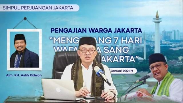 Anies Baswedan Hadiri Peluncuran Pengajian Warga Jakarta