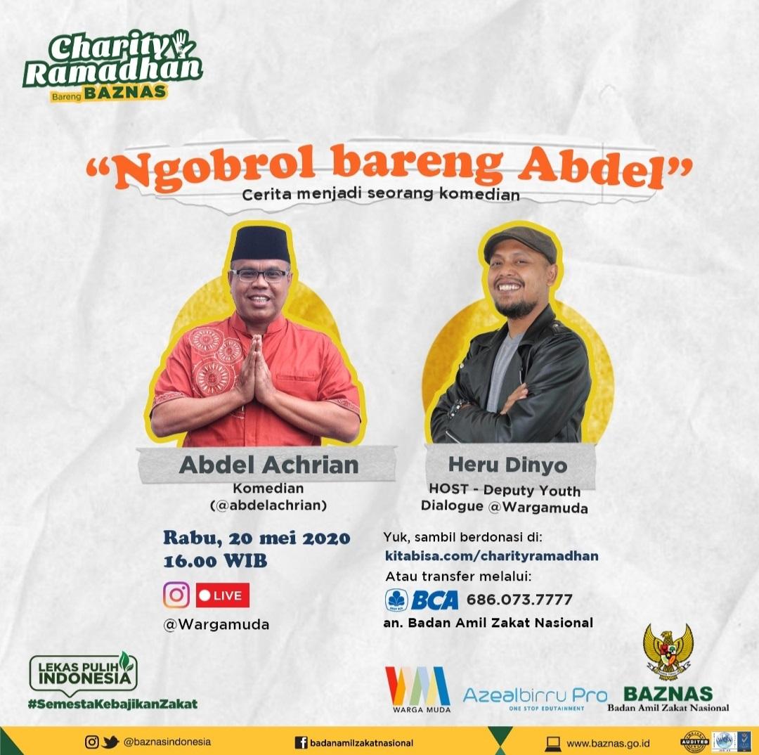 Acara Amal Ramadhan Bareng BAZNAS Kumpulkan Donasi Peduli Covid-19