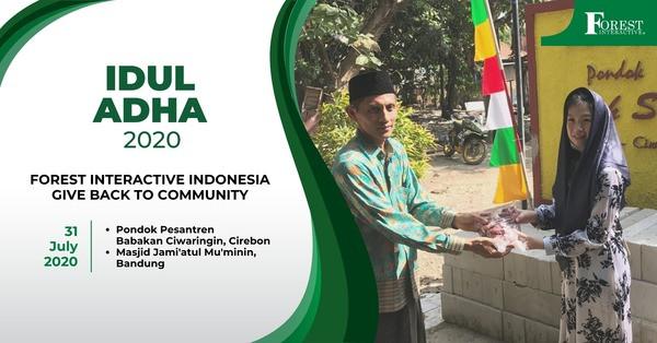 Apresiasi Pengguna VAS, Forest Interative Berbagi Keberkahan Idul Adha