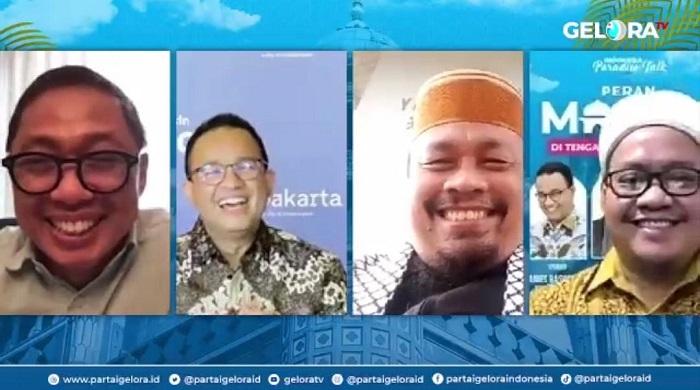 Partai Gelora Dorong Masjid sebagai Tempat Vaksinasi, Kampanye Vaksin Sehat dan Halal