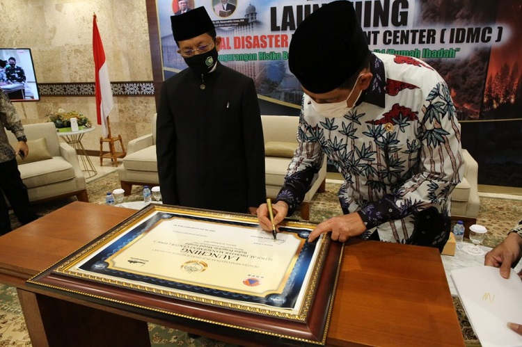 Kepala BNPB Hadiri Launching Istiqlal Disaster Management Center