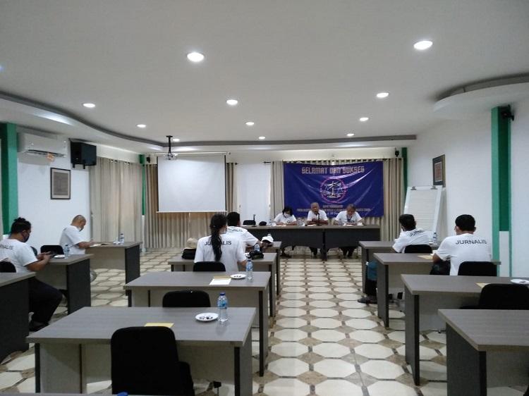 Jaga Kekompakan Rakor Wartawan Jaktim Berlangsung di Bogor