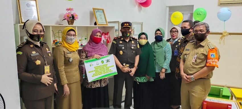Kejati DKI Jakarta Renovasi Sekolah Paud di Jakarta Timur