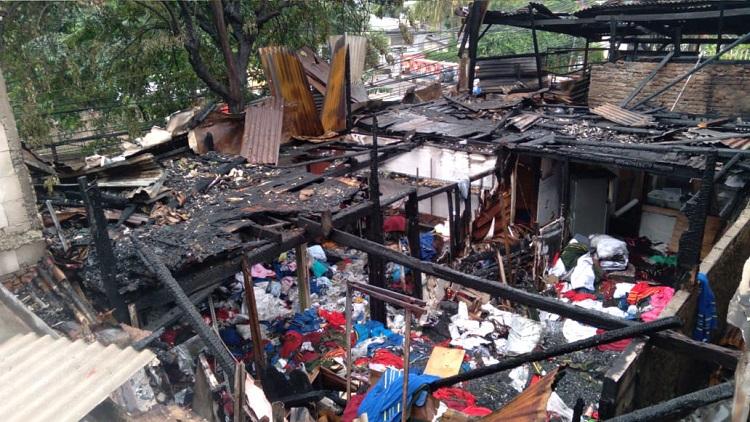 Mami: Kebakaran di Rumah Kontrakan Sekira Usai Sholat Subuh