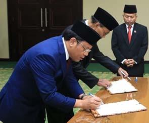 Prof. Dr. Phil. Kamaruddin Amin, M.A Diangkat Sebagai Dirjen Bimas Islam Kemenag