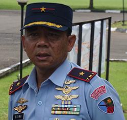 Danlanud Atang Sanjaya Marsma Eding Sungkana: