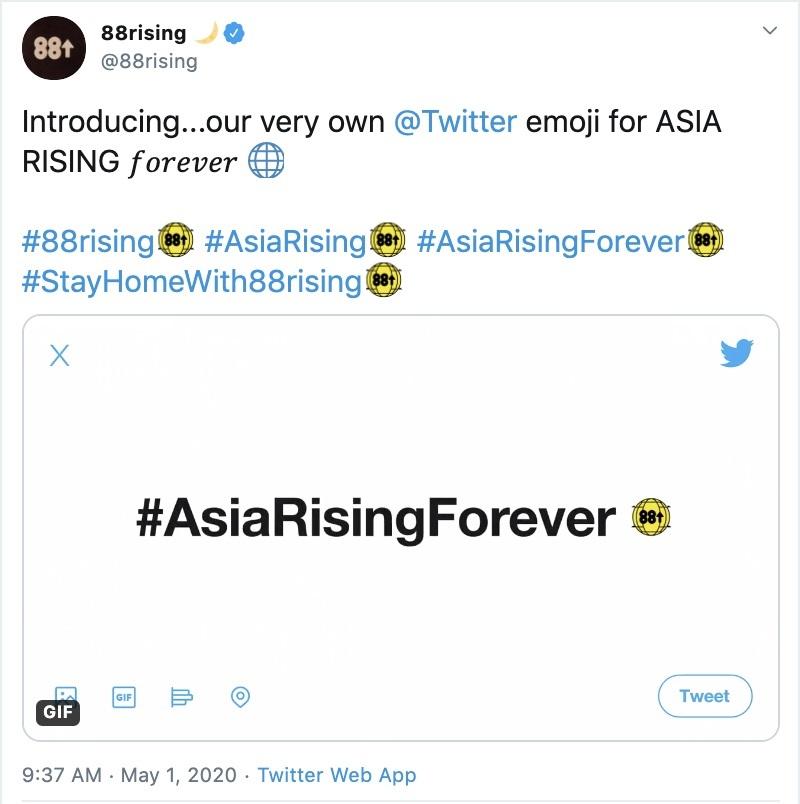 Konser global siaran langsung Twitter ASIA RISING FOREVER