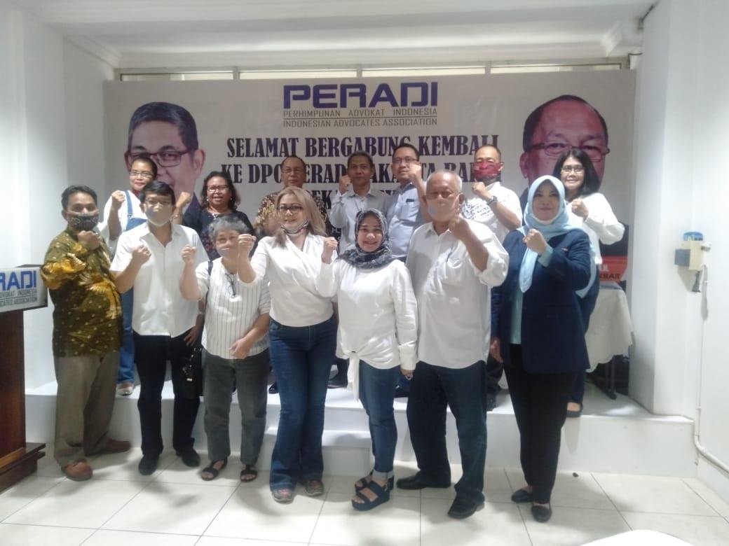 Advokat Senior Deklarasikan Diri ke Peradi Pimpinan Fauzi Hasibuan di Jakarta Barat