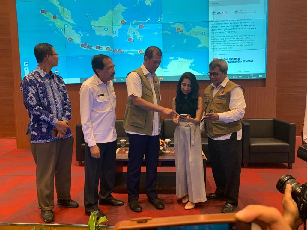 Peluncuran Petabencana.id Skala Nasional, Platform Pelaporan Bencana Via Media Sosial