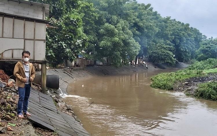 Kerja Keras SDA Komisi D Pantau Kali Buaran Bebas Banjir