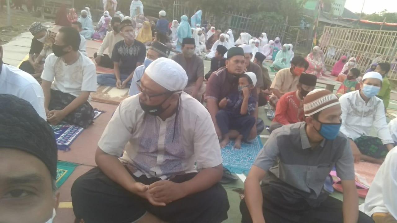 DKM Al Ikhlas Rayakan Idul Adha Terapkan Protokol Covid19