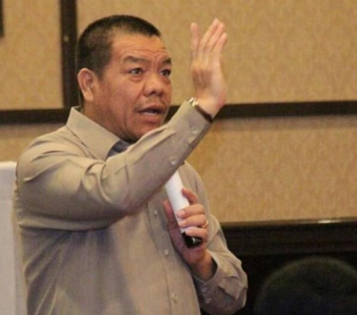 Sonny W Manalu ; Tinjau Penyaluran Bansos Untuk OKP