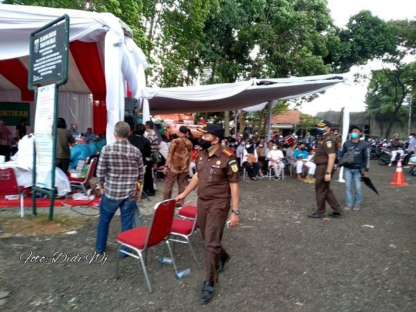 Adhyaksa Peduli Gelar Vaksinasi Massal di Ceger Jakarta Timur