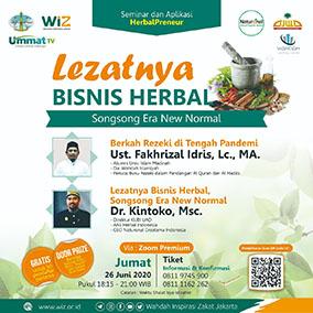 WIZ Sponsori Webinar Herbal
