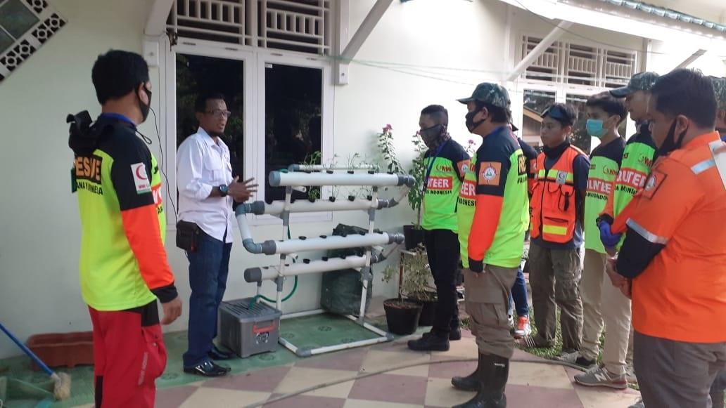 Dimasa Pandemi COVID-19, WMI Himbau Relawan dan Warga Menanam Tanaman Produktif