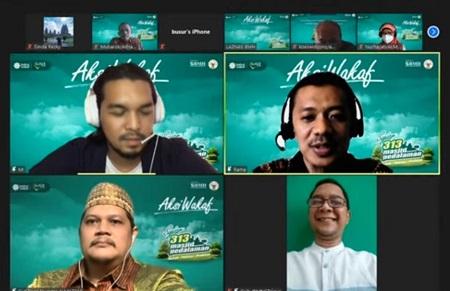 Kolaborasi Baitul Wakaf dan Almaz 313, Targetkan Bangun Ratusan Masjid Wakaf di Pedalaman Nusantara