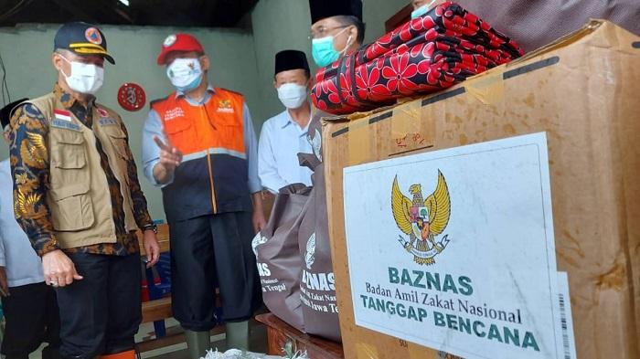 BAZNAS Distribusikan Bantuan untuk Korban Banjir Kudus