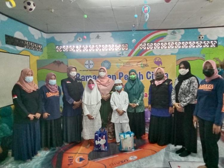 Istri Wali Kota Depok Sambangi Baraya Care