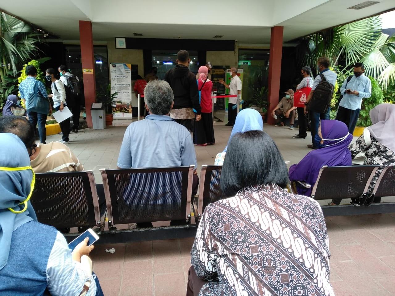 Pegawai Dinyatakan Positif Kantor BPN Jaktim di Tutup