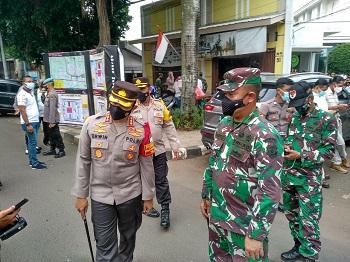 Dandim 0505/JT Terjunkan Satu Pleton Amankan Sidang Habib Rizieq Shihab
