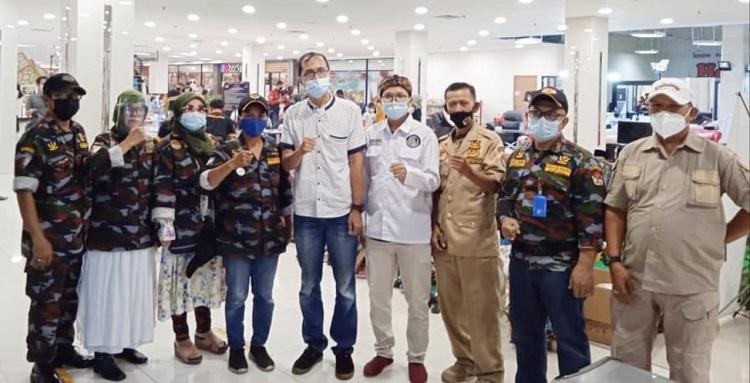DPC Garda Siliwangi Kota Depok Dukung Kegiatan Santunan Yatim Piatu dan Dhuafa di Mall Depok