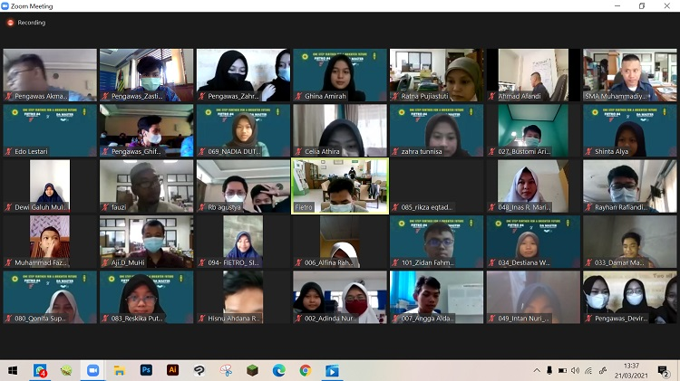 Ditengah Pandemi Covid-19, FIETRO #4 DA MASTER 2021 Digelar Secara Virtual