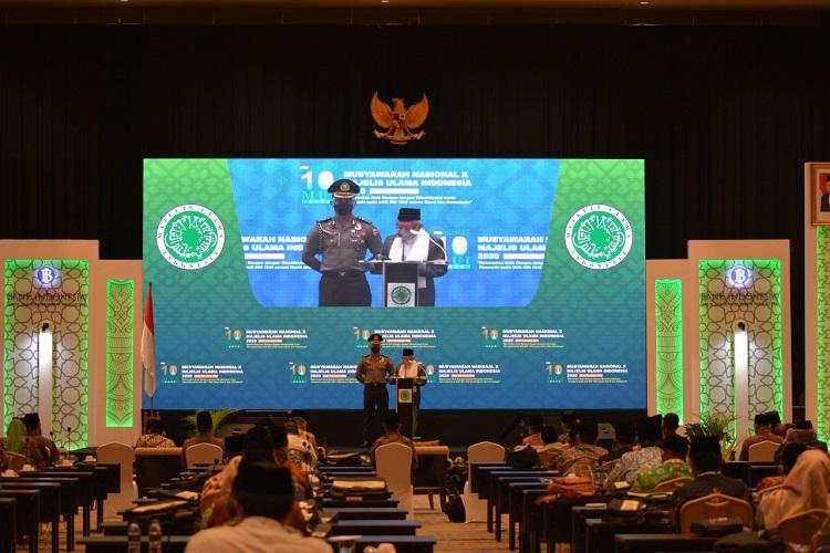KH Maruf Amin: MUI akan Tetap di Jalur Islam Moderat