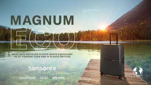 Samsonite Memperkenalkan Koleksi Koper Ramah Lingkungan Magnum Eco