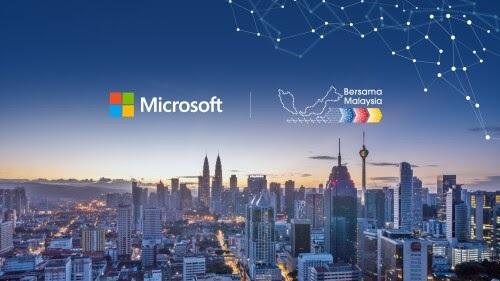Microsoft mengumumkan rencana untuk membentuk pusat data regional pertama di Malaysia