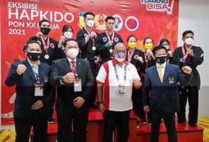 HAPKIDO Sukses Laksanakan Eksibisi di PON XX Papua