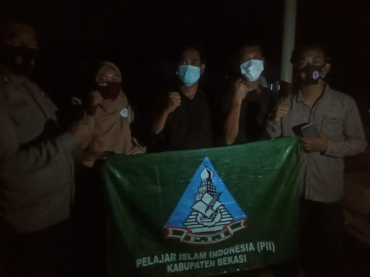 PII Kabupaten Bekasi Mendapatkan Apresiasi dari Kapolsek Muaragembong