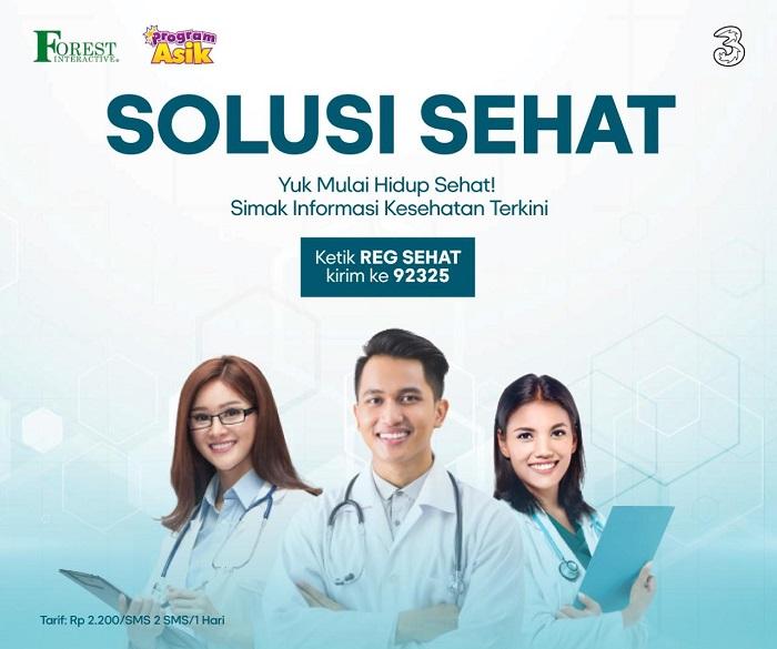 Forest Interactive dan Tri Indonesia Luncurkan Program Solusi Sehat untuk Penuhi Informasi Kesehatan