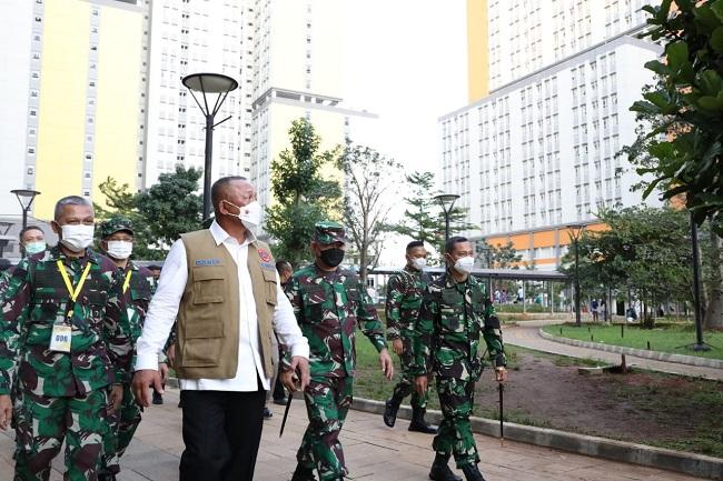 Ganip Warsito Pastikan Wisma Atlet Siap Hadapi Lonjakan Pasien Paska Libur Lebaran