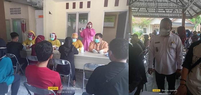 Program Vaksinasi Tahap Satu Desa Cileungsi Kec Ciawi Bogor