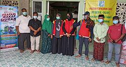 PDUI Kota Bekasi dan IDC Tebar Wakaf Quran